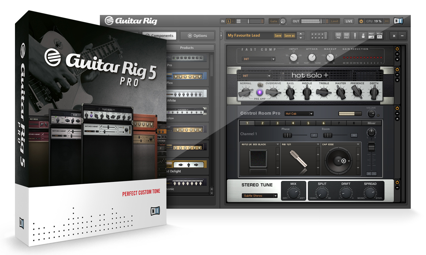 guitar rig 5 without noise