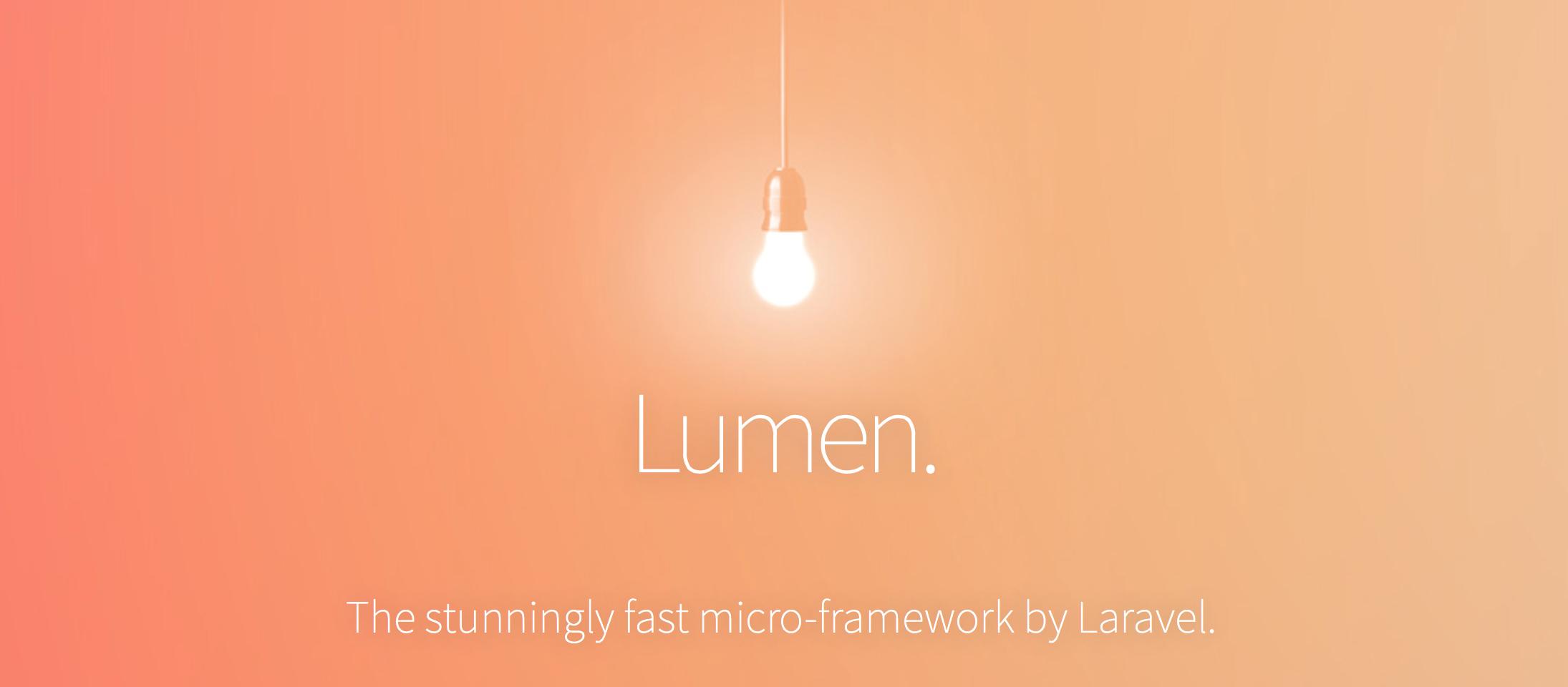 Lumen (Micro Framework Laravel)